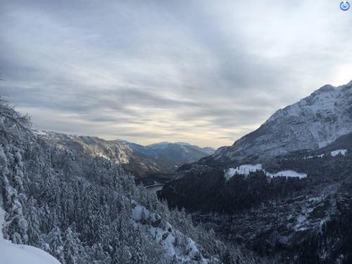 Panorama dal Rifugio La Montanara - Molveno
