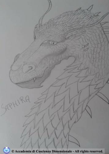Saphira from Eragon