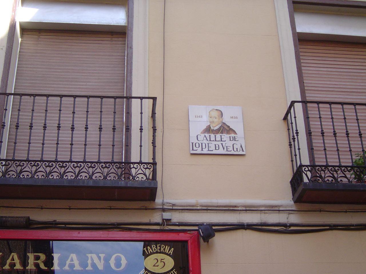 calle de Lope de Vega