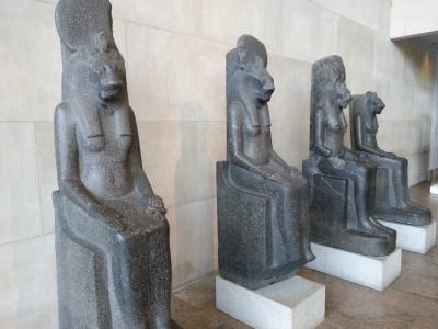 Metropolitan. Represetnaciones de la diosa Shekhmet