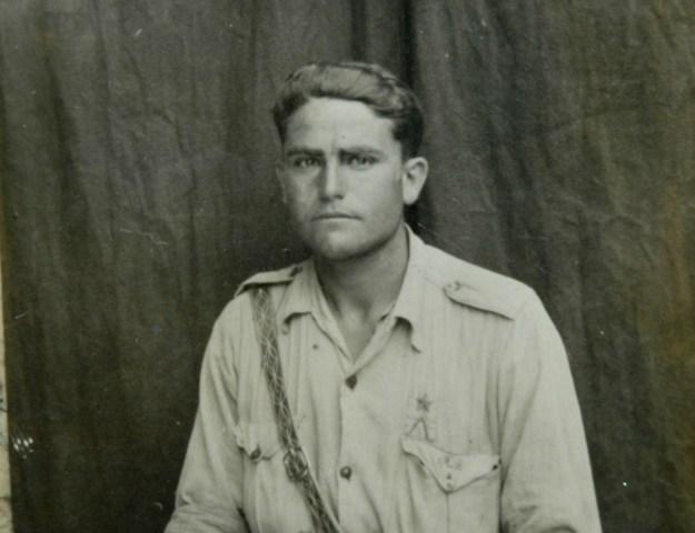 Mi padre en el Ebro 1938
