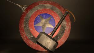 Mjolnir and Shield