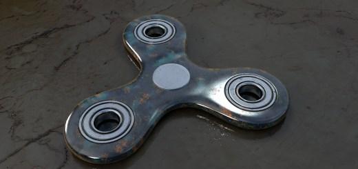 modelar um spinner