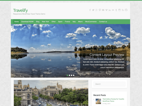 Template-Wordpress-Gratuito-Travelify