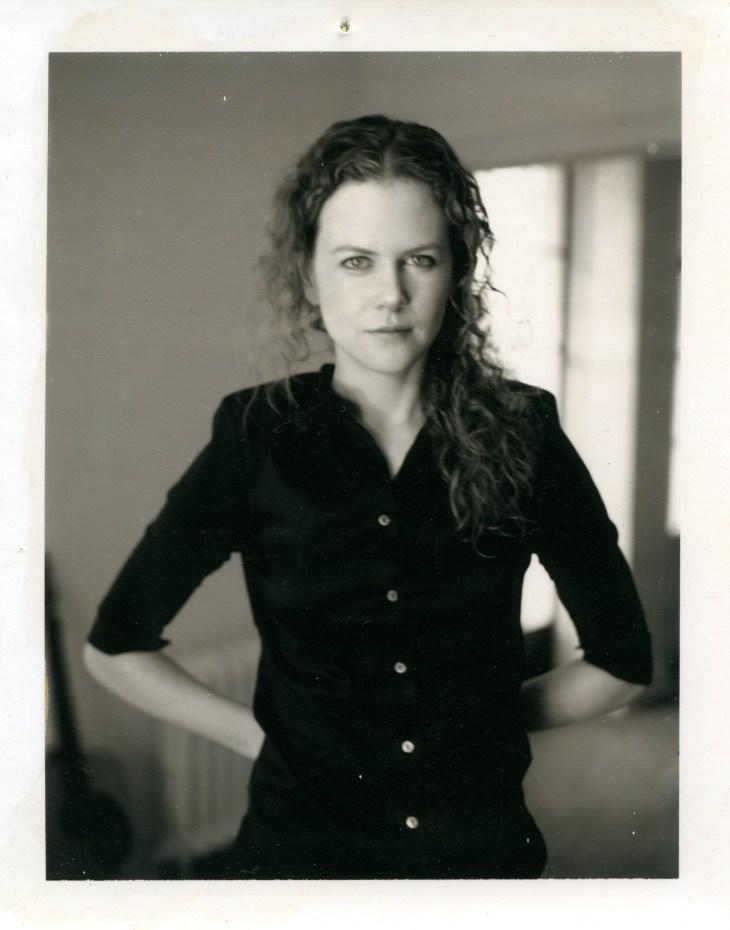 Gus Van Sant_Nicole Kidman_de la série Polaroïds_ 1983-1999 © Gus Van Sant
