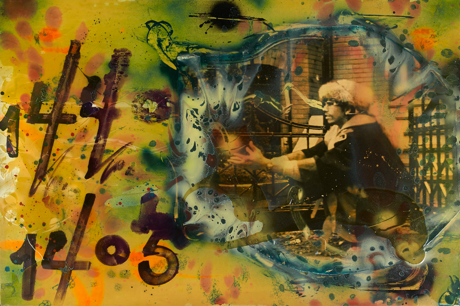 Lot 12 Rammellzee How to make a bomb 1985 © Artcurial