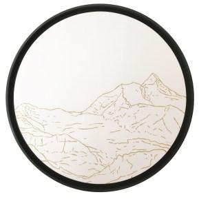 Golden Landscapes Junfrau par Philippe Cramer