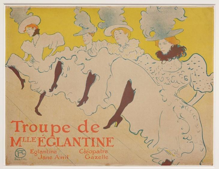 Toulouse Lautrec - Troupe Mademoiselle Eglantine (1895-1896).jpg