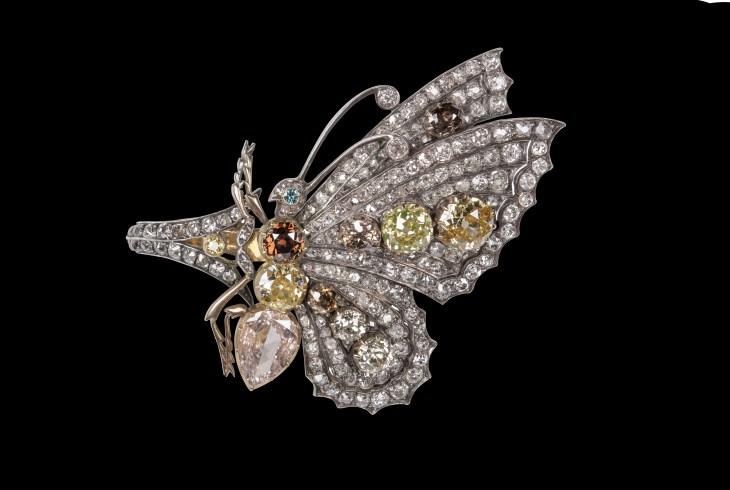 Eliane Fattal - Diamond Butterfly