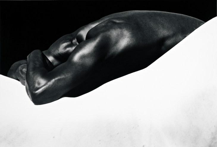 Laurent Elie Badessi_Man's Back, Horse's Back, Camargue, France, 1994 © Laurent Elie Badessi.jpg