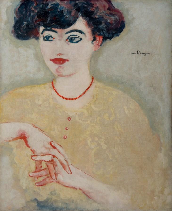 Kees Van DOngen _ La Parisienne, Galerie Helene Bailly - Copie