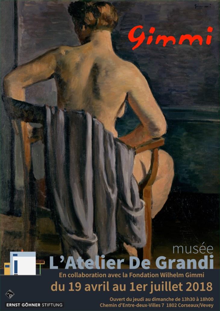 Affiche_Wilhelm Gimmi. Une vie pour la peinture