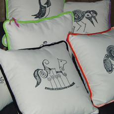 home decor and pillows in Belmont center