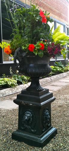 vintage garden container