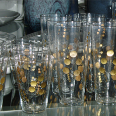 goldenberry glassware