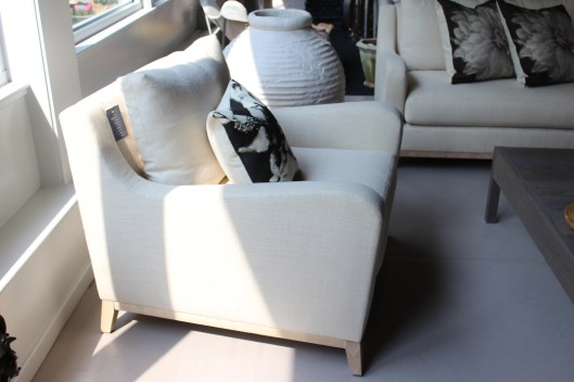 June Chair by Verellen - graceful lines, a lot of personality, extremely comfortable.