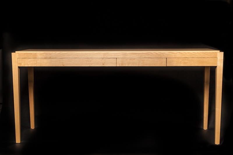Ash Console|Bar 3 drawer