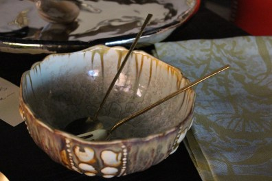 both the inside + outside of this bowl by alison evans are very very special
