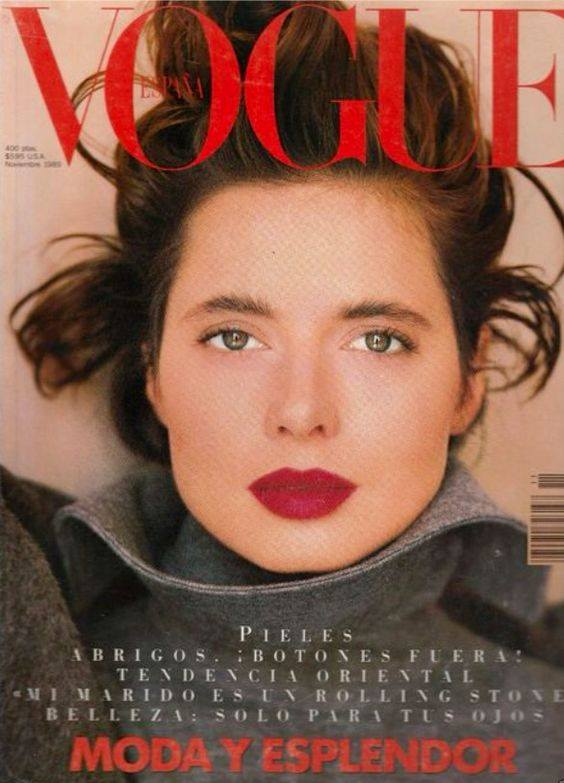 isabella rosselini vogue cover