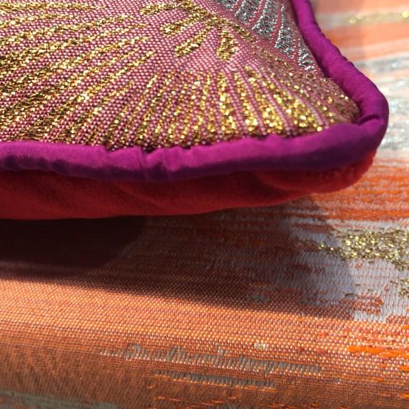 italy-coral, magenta, gold