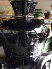 black chinese vessel