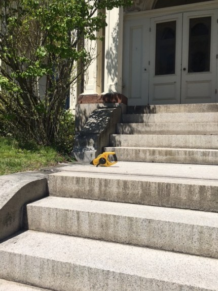 front step middle