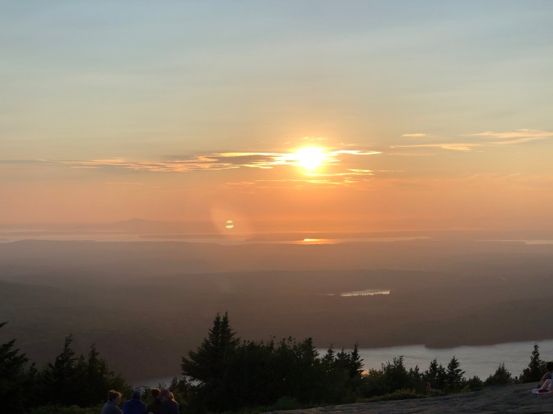 acadia national park-cadillac mountain-sunset 3