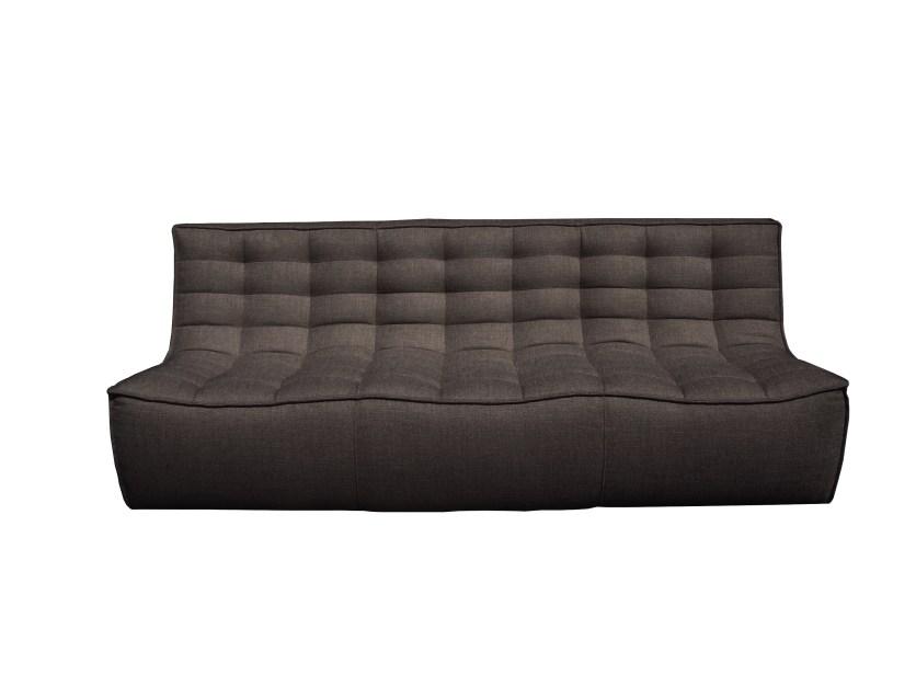 20234 N701 Sofa 3 seater - Dark grey