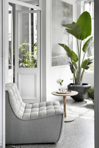 N701 sofa 1 seater - Beige