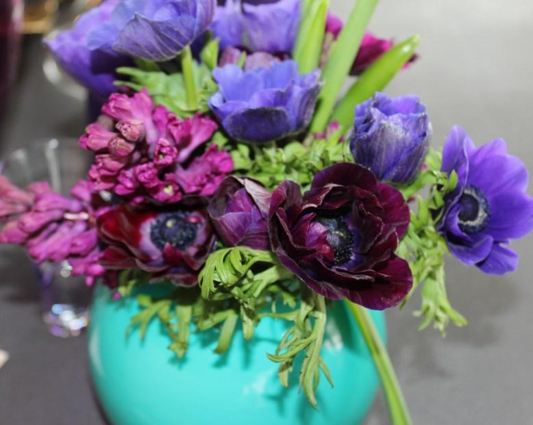 spring purples in turq vase 1