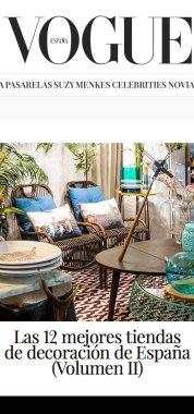 Revista Aparición Vogue Noviembre 2016 decoración sevilla
