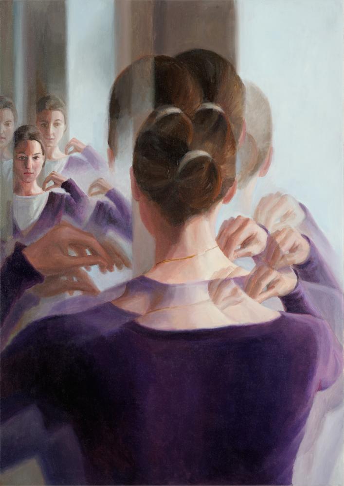 Deenesh Ghyczy - Anna-von-K.3,2012,85x60cm