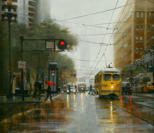 pintura lluvia 1