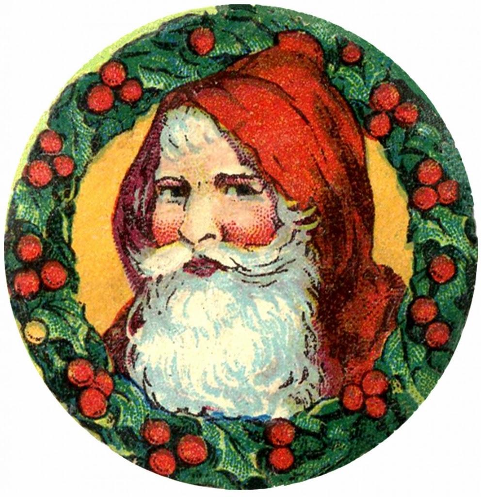 Ilustraciones antiguas de Santa Claus – Arte Feed