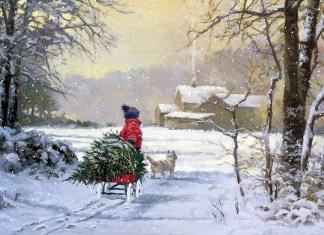 Pintura navidad