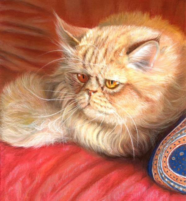 21-persian-cat-painting