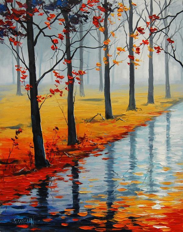 Bellas pinturas de paisajes de graham gercken arte feed - Los cuadros mas bonitos ...