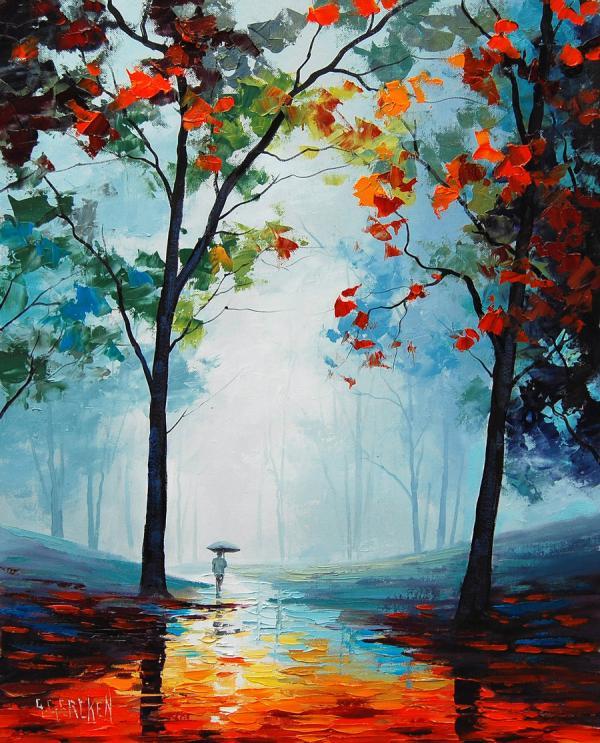 bellas pinturas de paisajes de graham gercken 7 - Imagenes De Paisajes