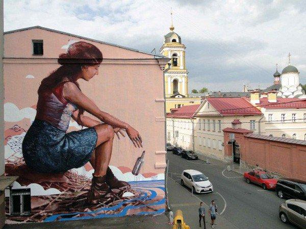 El arte callejero de Fintan Magee 12