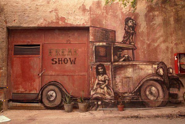 arte callejero de Gonzalo Borondo 1
