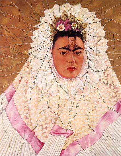 """""""Autorretrato como Tehuana"""" (1943)"""