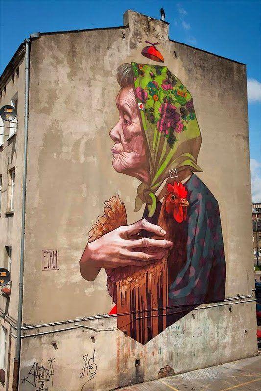 Mural De Arte A Gran Escala