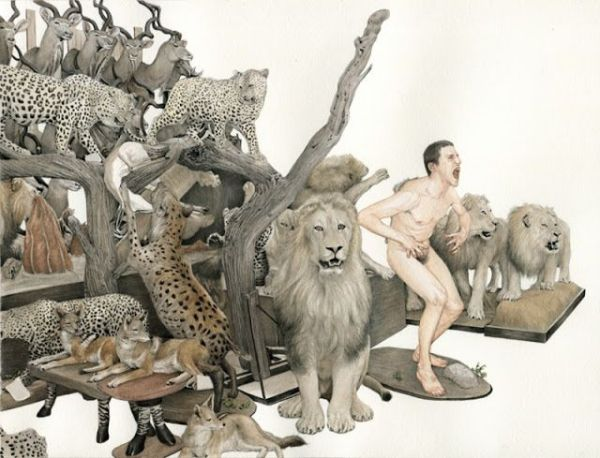 La naturaleza del hombre - Ilustraciones de Fabien Merell 3