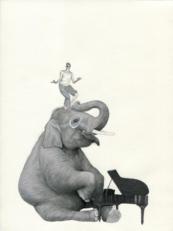 La naturaleza del hombre - Ilustraciones de Fabien Merell 5