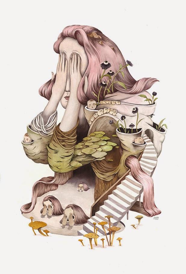 Ilustraciones de Andrea Wan  1