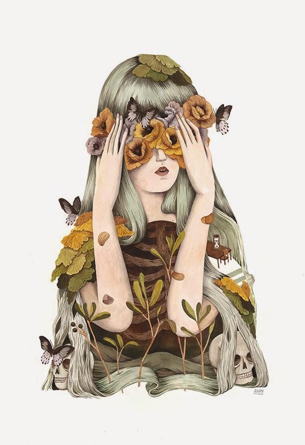Ilustraciones de Andrea Wan  5