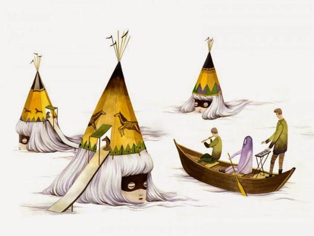 Ilustraciones de Andrea Wan 6