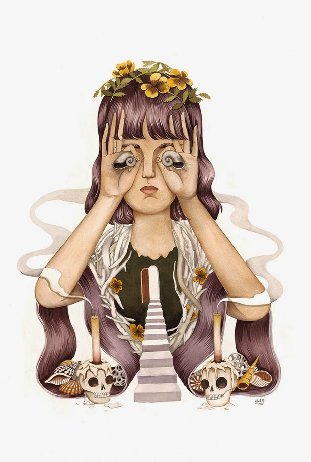Ilustraciones de Andrea Wan  7