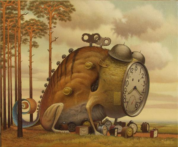 Jacek Yerka pinturas surrealistas 2