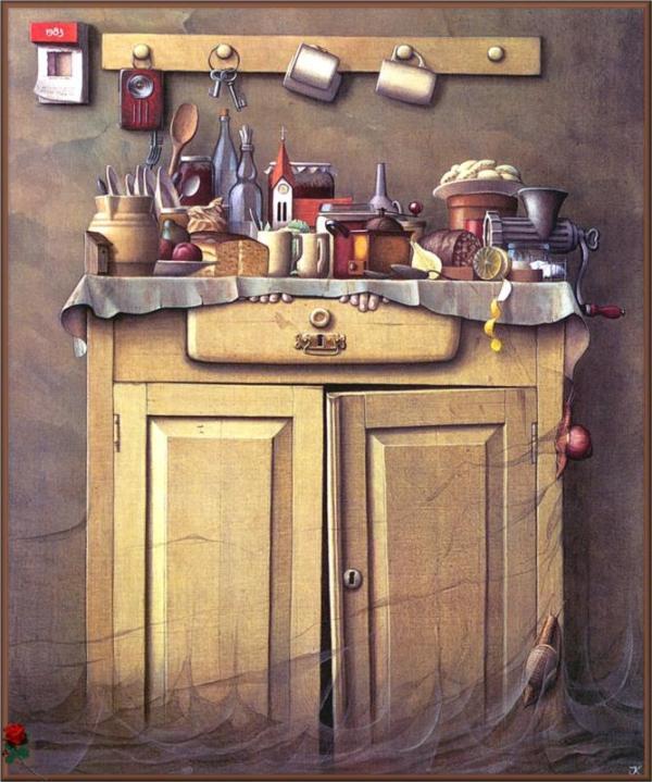 Jacek Yerka pinturas surrealistas 8